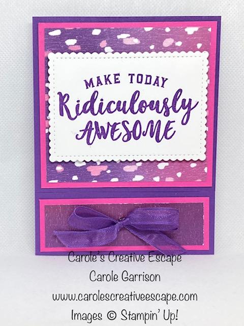 Gift Card Fun Fold 3